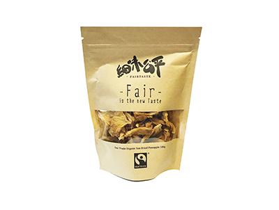 FairTaste Fair Trade Organic Sun-Dried Pineapple