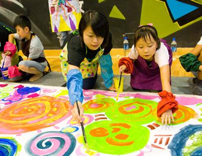GAP - 與學童Art Jam 交流